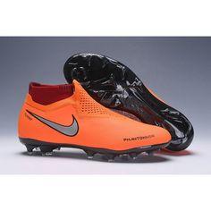 Proximas Botas De Futbol Nike Phantom Vision Elite DF FG Naranja Plateado  Negro visit us  e048745b02cb4