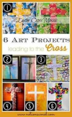 6 Art Projects that Lead to the Cross...plus tons of other ideas!