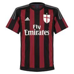 Camiseta del AC Milan 2015-2016 Local  #Milan #ACMilan
