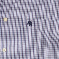 Carson Mini Check Short Sleeve Shirt by Carson