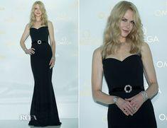 Nicole Kidman In Dolce & Gabbana - OMEGA - De Ville Prestige 'Butterfly' Launch - Red Carpet Fashion Awards
