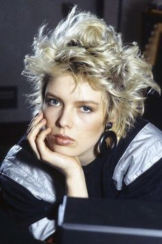 Kim Wilde Cool '80s Look