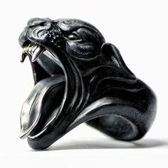 BLACK PANTHER RING #men'sjewelry