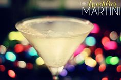 The French Pear Martini Cocktail Recipe