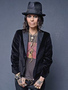 Linda Perry- amazing singer, guitarist, and song writer (wrote songs for P!nk and Christina Aguilera.)
