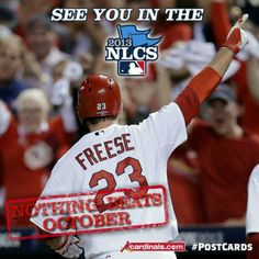 NLC'S. HERE WE COME! GO CARDINALS!!!!