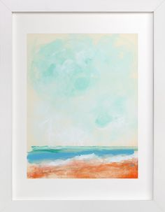 Beach Blaze by Lindsay Megahed at minted.com
