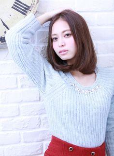 ナチュラルボブ  【avant】 http://beautynavi.woman.excite.co.jp/salon/27400?pint  ≪ #bobhair #bobstyle #hairstyle #bobhairstyle・ボブ・ヘアスタイル・髪形・髪型≫