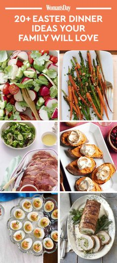 Not sure what to serve on Easter Sunday for dinner? Use these Easter dinner recipes for inspiration!