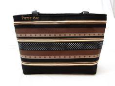 Grosgrain Ribbon Zippered Purse by PurseCat on Etsy https://www.etsy.com/listing/262394519/grosgrain-ribbon-zippered-purse