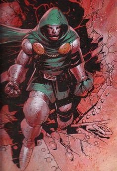 """"""" Dr. Doom by Chris Bachalo """""""