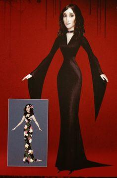 Stitching It Up: Martha Dracula DIY Costume, Hotel Transylvania