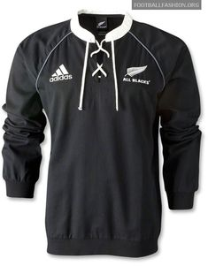 New Zealand All Blacks adidas 2012 Retro Rugby Jersey