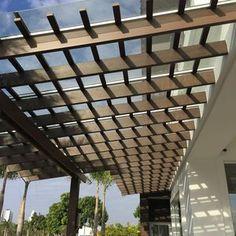 auvent pour terrasse / d'entrée / pour porte et fenêtre / en composite