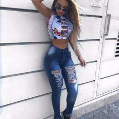 Pin on Mannequins 2018 / 2019 Pin on Mannequins 2018 / 2019 Mode Outfits, Sexy Outfits, Girl Outfits, Casual Outfits, Summer Outfits, Fashion Outfits, Sexy Jeans, Skinny Jeans, Girls Jeans