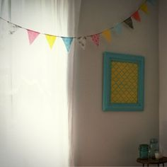 """""""No sew bunting tutorial"""" I absolutely love bunting, time to learn how to do it!!"""
