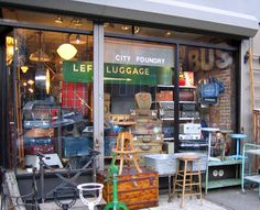 City Foundry...vintage industrial shop. Looks like a trip to Brooklyn is in order!