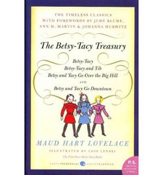 All of the Betsy-Tacy books are amazing, but I'm having trouble finding copies of the entire series. Betsy Ray was the best.