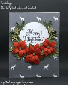 Crafting for sanity? Or insanity?: Close To My Heart Christmas Card Blog Hop