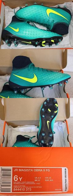 Youth 159177: ~ Nike Jr Magista Obra Ii Fg Soccer Football Cleats Size 6 Youth ~ BUY IT NOW ONLY: $99.0