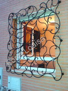 Modern Small House Design, Dream Home Design, Gate Design, Door Design, Metal Walls, Metal Wall Art, Art Fer, Window Bars, Window Grill Design