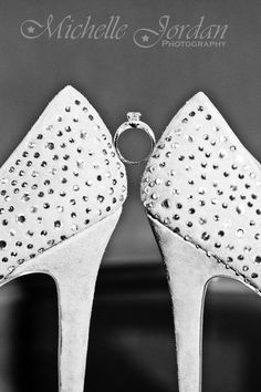 MICHELLE JORDAN Photography  |  Wedding Ring / Shoes Detail Shot