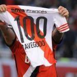Cavenaghi superó los 100 golesiseta de River