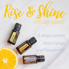 Rise and shine by beautiful oily babes! This diffuser blend will help you wake up feeling alert and ready for the day. This blend is also great to use in the mornings while your kids are getting ready for school to help them get moving and excited to learn. Plus, it will help them be in a good mood!