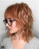 29 Chic Shag Haircut For a Trendy Look in This Year - Hair Styles Long Shag Hairstyles, Medium Shag Haircuts, Hairstyles Haircuts, Cool Hairstyles, Glasses Hairstyles, Pixie Haircuts, Office Hairstyles, Anime Hairstyles, Hairstyles Videos