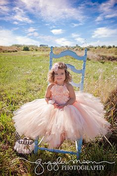 Raised Rosette Peach satin and  Lace ....Flower Girl Dress..Vintage Photography Prop..Made to Order