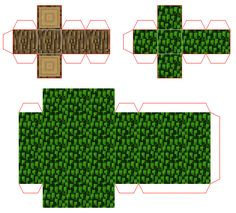 minecraft papercraft tree mini anthony s things Minecraft Crafts, Minecraft Real Life, Minecraft Tree, Minecraft Games, Minecraft Creations, Minecraft Pixel Art, Cool Minecraft, Minecraft Skins, Minecraft Buildings