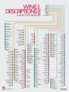 Wine Descriptions (Infographic) by Wine Folly