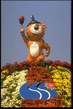 """Hodori was the official mascot of the 1988 Summer Olympic Games in Seoul, South Korea. He was designed as an amicable Amur Tiger, portraying the friendly and hospitable traditions of the Korean people, and the name Hodori was chosen from 2,295 suggestions sent in by the public. There was also a female tiger named """"Hosuni"""", but she was seldom used."""