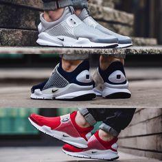 """fd17f4f4befd """"ONLINE NOW! Nike Sock Dart - Grey"""