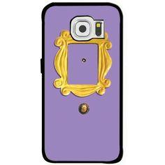 Friends TV Show Monica's Peephole Door Samsung Galaxy S6 iPhone 6 Rubber Case