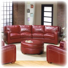 1000 Images About Sectionals On Pinterest Red Leather