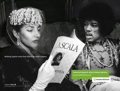 JIMI HENDRIX ADVISES MARIA CALLAS, Ogilvy & Mather Frankfurt, Dresdner Kleinwort, Germany, Print, Outdoor, Ads