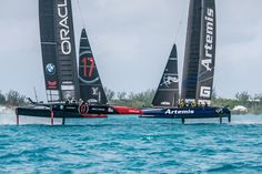 Sailors weigh in on round 3 of practice racing