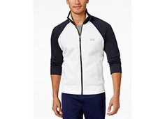 Boss Hugo Boss Green Skoz Full Zip Mock Jacket ** Check this awesome product by going to the link at the image.