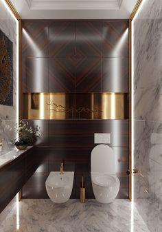 cove lighting in modern bathroom I Décor Aid