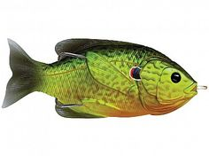 Florescent Pumpkinseed Hollow Body Sunfish by Koppers Live Target Topwater Lures, Saltwater Fishing, Freshwater Fish, Dark Colors, Fishing Lures, Fresh Water, Target, Live, Spring