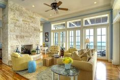 The Beach Blue House - Home Bunch - An Interior Design & Luxury Homes Blog