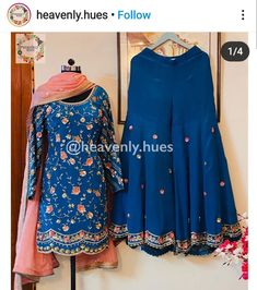 Embroidery Suits Punjabi, Embroidery Suits Design, Embroidery Fashion, Embroidery Patterns, Punjabi Suits Designer Boutique, Boutique Suits, A Boutique, Simple Pakistani Dresses, Pakistani Dress Design