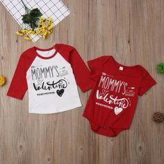 Valentine Cute Youth Fleece Crewneck Sweater Tcombo Mommys Heartbreaker