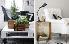Crate Ideas for the Home