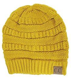 Winter White Ivory Thick Slouchy Knit Oversized Beanie Cap Hat,One Size,Mustard Luxury Divas http://www.amazon.com/dp/B00O0ZTZZC/ref=cm_sw_r_pi_dp_BoiRub0BMYARJ