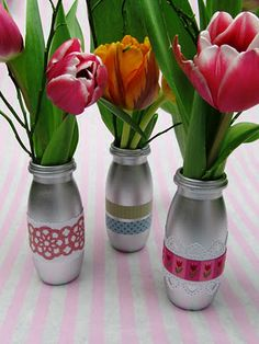 upcycling: from a plastic bottle to a stylish vase