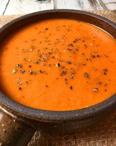 Best Damn Instant Pot Creamy Tomato Basil Soup