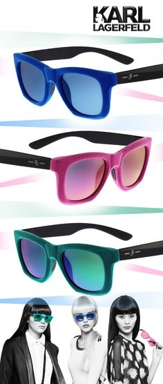 Shine Bright in 'Karl is Kolor' Sunnies: http://eyecessorizeblog.com/2015/02/shine-bright-karl-kolor-sunnies/