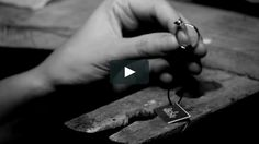 The making of Blossom ring as part of the BELOVED Collection of Ikcha Handcrafted Jewelry.